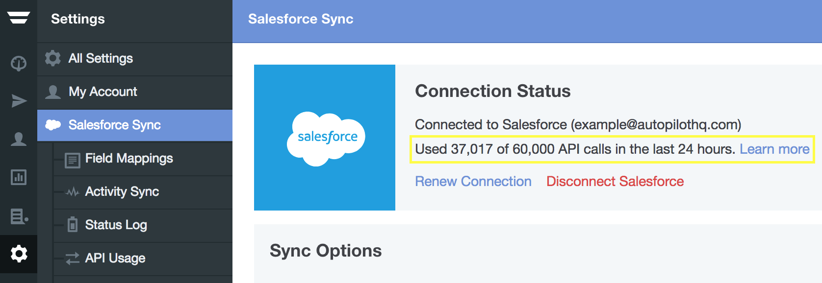 How to monitor Salesforce API usage – Home