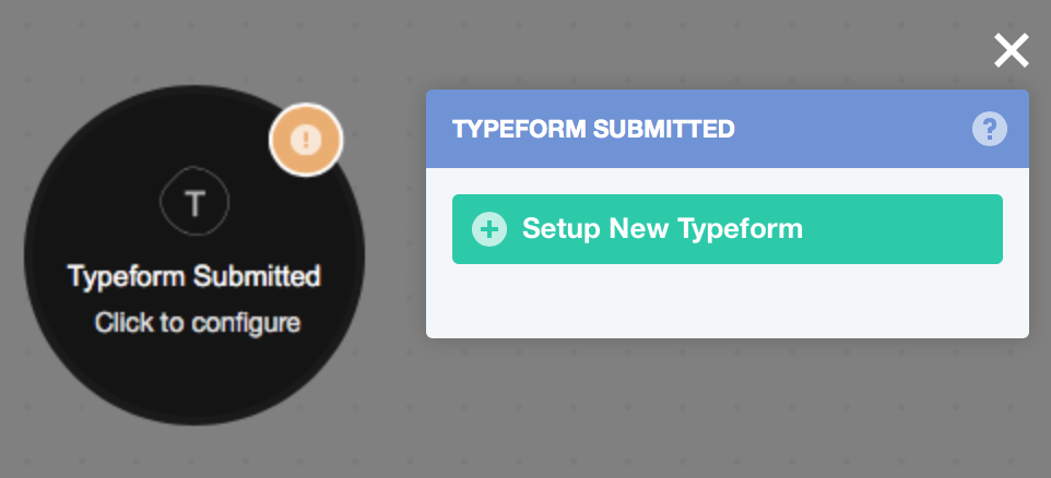 Trigger - Typeform Submitted – Home