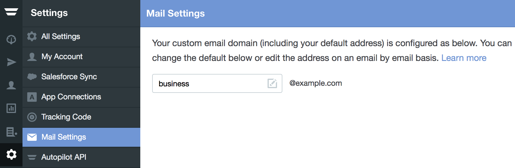 Configure your custom email domain – Home